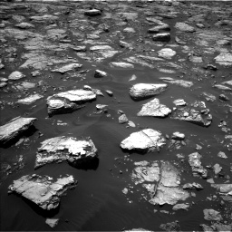 Nasa's Mars rover Curiosity acquired this image using its Left Navigation Camera on Sol 1571, at drive 3142, site number 59