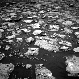 Nasa's Mars rover Curiosity acquired this image using its Left Navigation Camera on Sol 1571, at drive 3172, site number 59