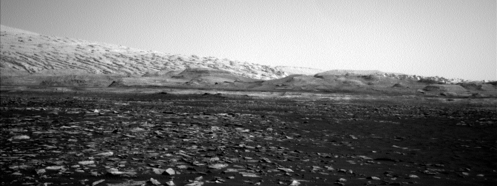 NASA's Mars rover Curiosity acquired this image using its Left Navigation Camera (Navcams) on Sol 1571