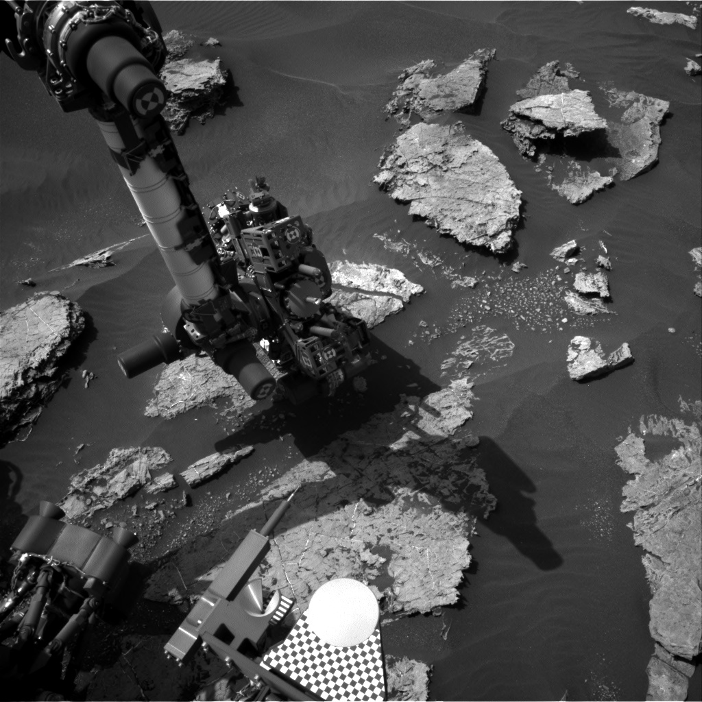 Nasa's Mars rover Curiosity acquired this image using its Right Navigation Camera on Sol 1571, at drive 3016, site number 59