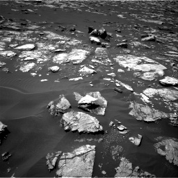 Nasa's Mars rover Curiosity acquired this image using its Right Navigation Camera on Sol 1571, at drive 3040, site number 59