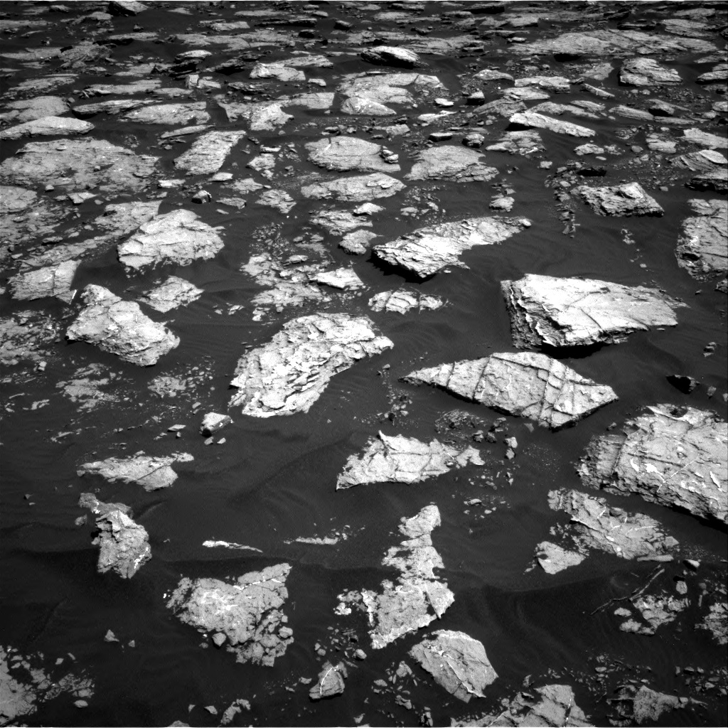 Nasa's Mars rover Curiosity acquired this image using its Right Navigation Camera on Sol 1571, at drive 3142, site number 59