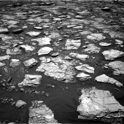 Nasa's Mars rover Curiosity acquired this image using its Right Navigation Camera on Sol 1571, at drive 3172, site number 59