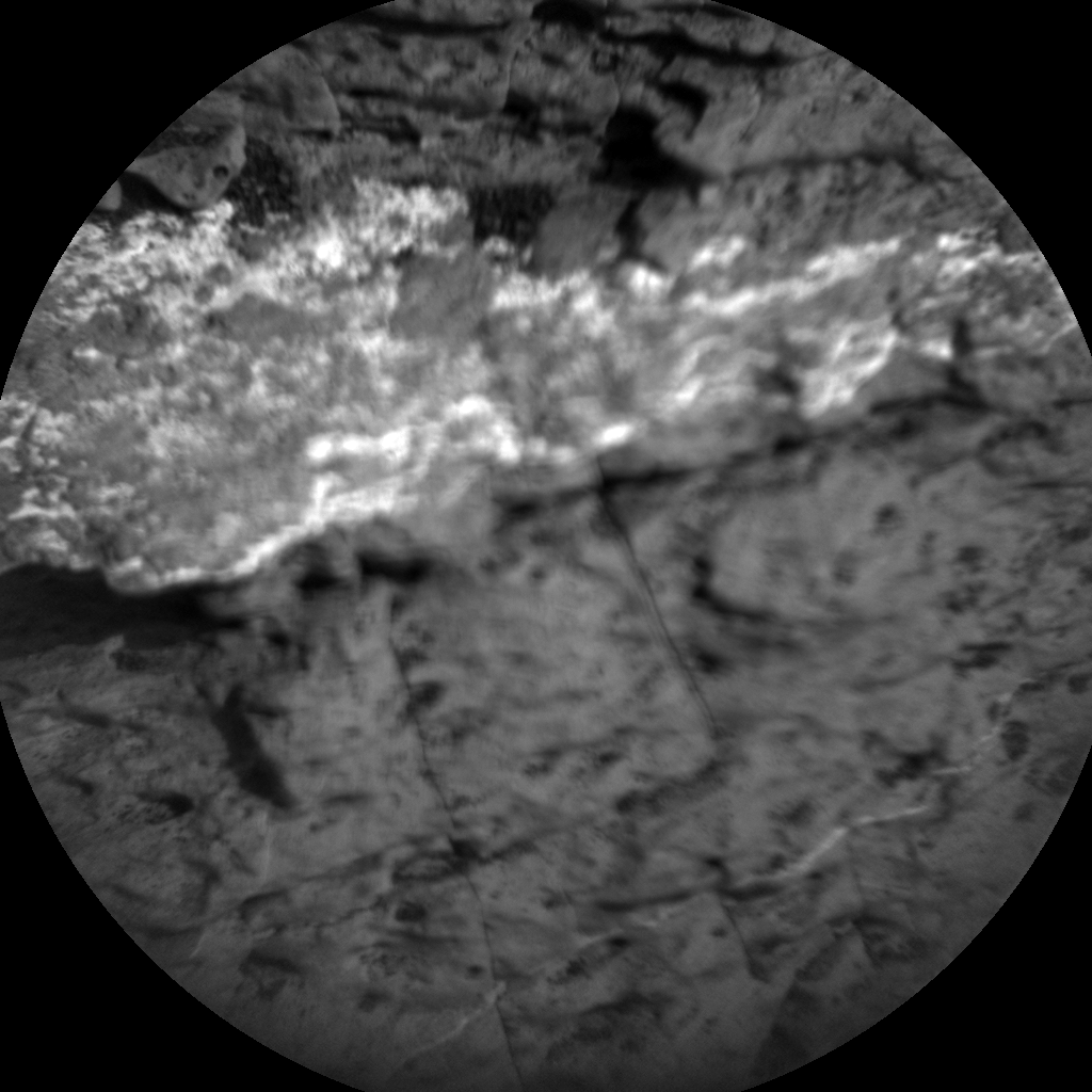Nasa's Mars rover Curiosity acquired this image using its Chemistry & Camera (ChemCam) on Sol 1573, at drive 0, site number 60
