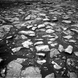 Nasa's Mars rover Curiosity acquired this image using its Left Navigation Camera on Sol 1574, at drive 12, site number 60