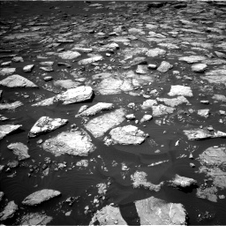 Nasa's Mars rover Curiosity acquired this image using its Left Navigation Camera on Sol 1574, at drive 42, site number 60