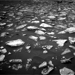 Nasa's Mars rover Curiosity acquired this image using its Left Navigation Camera on Sol 1574, at drive 60, site number 60