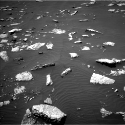 Nasa's Mars rover Curiosity acquired this image using its Left Navigation Camera on Sol 1574, at drive 138, site number 60