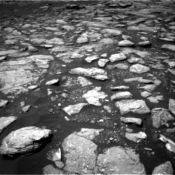 Nasa's Mars rover Curiosity acquired this image using its Right Navigation Camera on Sol 1574, at drive 18, site number 60