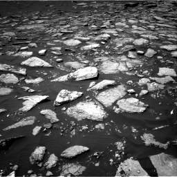 Nasa's Mars rover Curiosity acquired this image using its Right Navigation Camera on Sol 1574, at drive 48, site number 60