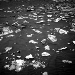 Nasa's Mars rover Curiosity acquired this image using its Right Navigation Camera on Sol 1574, at drive 90, site number 60