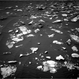 Nasa's Mars rover Curiosity acquired this image using its Right Navigation Camera on Sol 1574, at drive 96, site number 60
