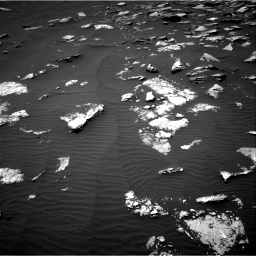 Nasa's Mars rover Curiosity acquired this image using its Right Navigation Camera on Sol 1574, at drive 108, site number 60