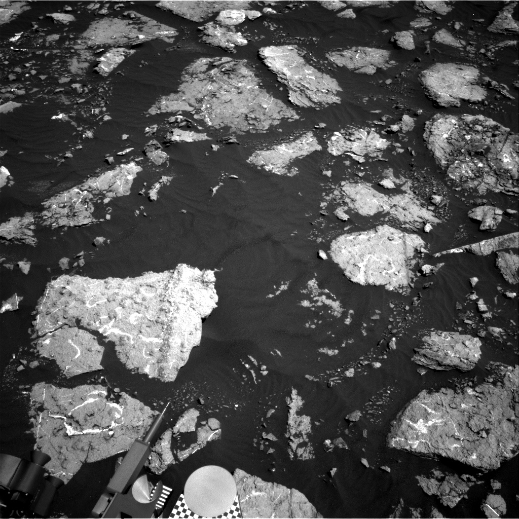 Nasa's Mars rover Curiosity acquired this image using its Right Navigation Camera on Sol 1574, at drive 180, site number 60