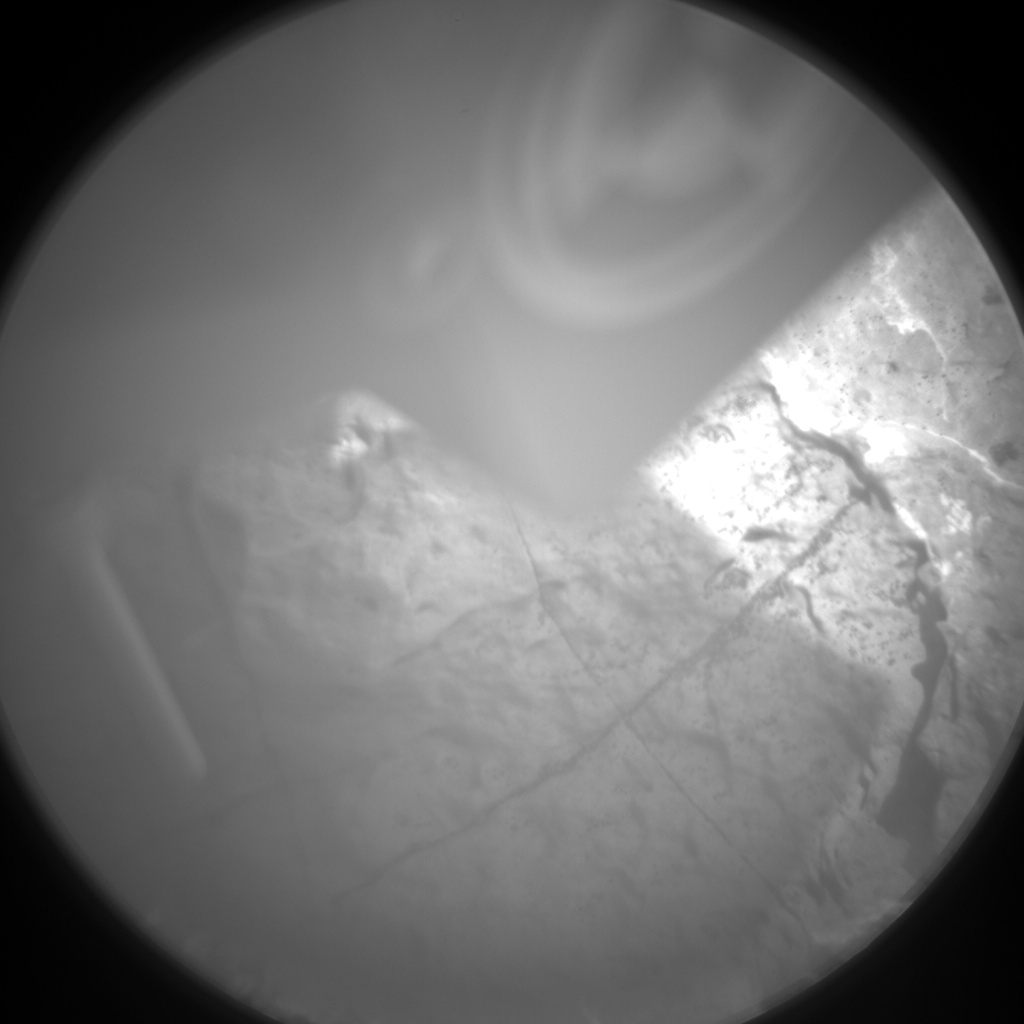 Nasa's Mars rover Curiosity acquired this image using its Chemistry & Camera (ChemCam) on Sol 1575, at drive 180, site number 60