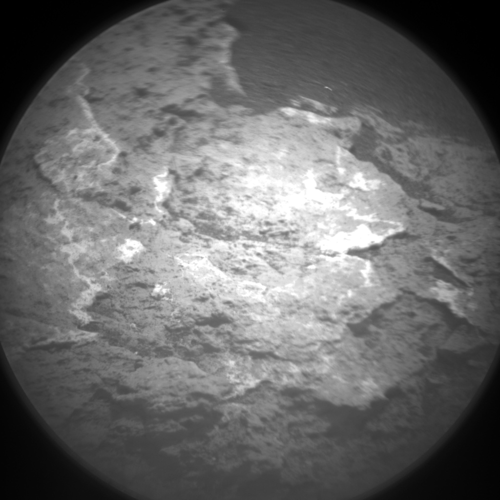 Nasa's Mars rover Curiosity acquired this image using its Chemistry & Camera (ChemCam) on Sol 1576, at drive 396, site number 60