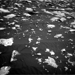 Nasa's Mars rover Curiosity acquired this image using its Left Navigation Camera on Sol 1576, at drive 270, site number 60