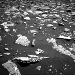 Nasa's Mars rover Curiosity acquired this image using its Left Navigation Camera on Sol 1576, at drive 300, site number 60