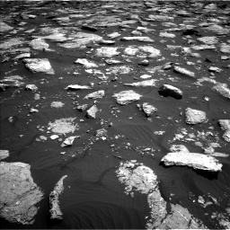 Nasa's Mars rover Curiosity acquired this image using its Left Navigation Camera on Sol 1576, at drive 312, site number 60