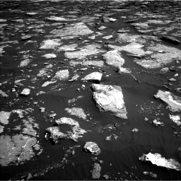 Nasa's Mars rover Curiosity acquired this image using its Left Navigation Camera on Sol 1576, at drive 336, site number 60