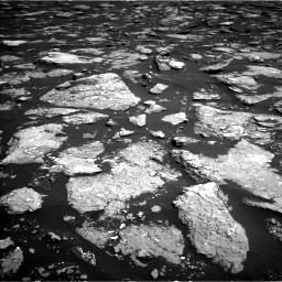 Nasa's Mars rover Curiosity acquired this image using its Left Navigation Camera on Sol 1576, at drive 360, site number 60