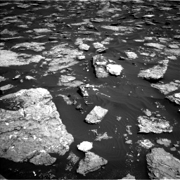 Nasa's Mars rover Curiosity acquired this image using its Left Navigation Camera on Sol 1576, at drive 384, site number 60