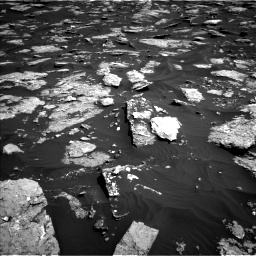 Nasa's Mars rover Curiosity acquired this image using its Left Navigation Camera on Sol 1576, at drive 390, site number 60