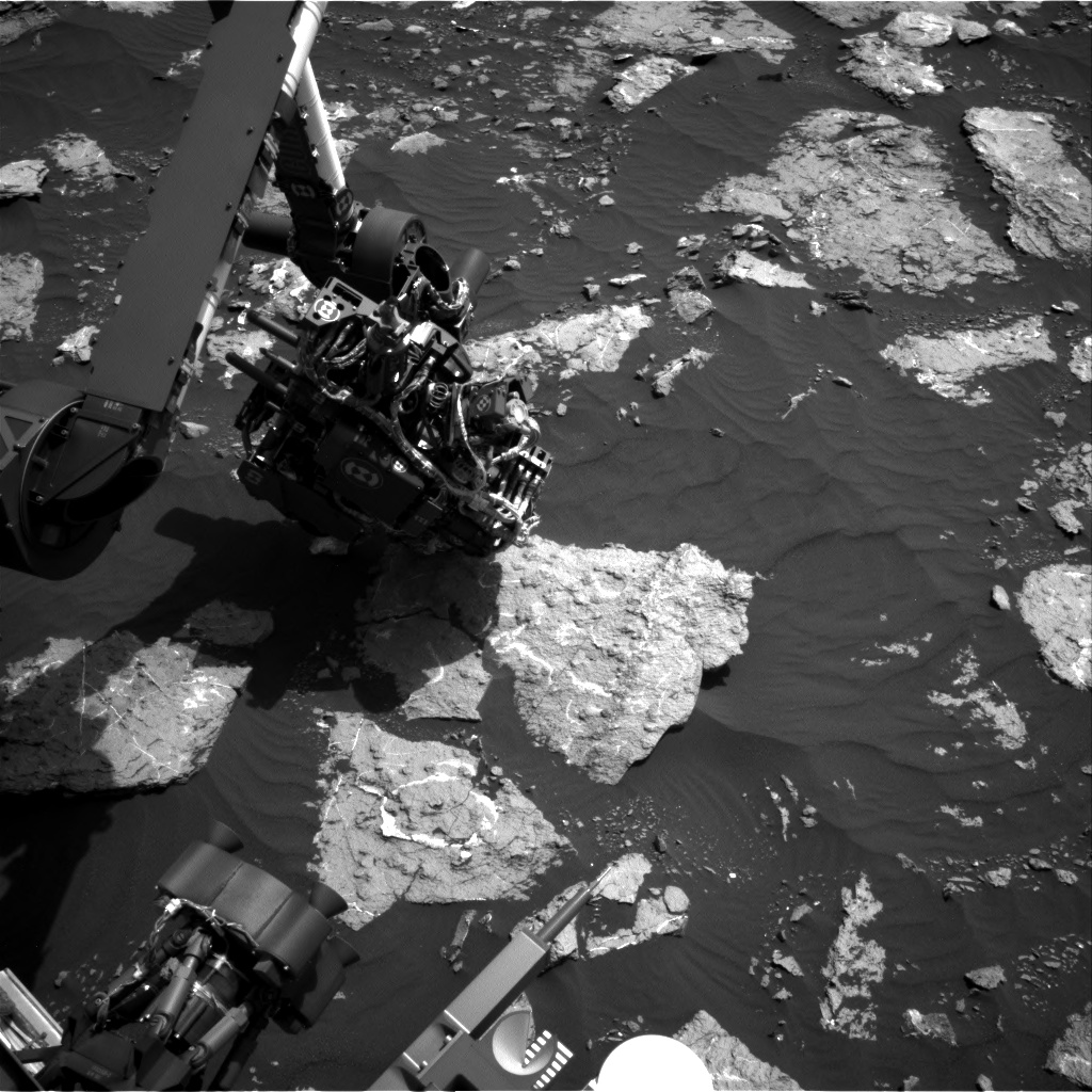 Nasa's Mars rover Curiosity acquired this image using its Right Navigation Camera on Sol 1576, at drive 180, site number 60