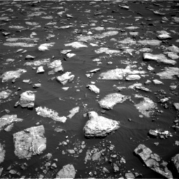 Nasa's Mars rover Curiosity acquired this image using its Right Navigation Camera on Sol 1576, at drive 210, site number 60