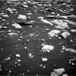 NASA's Mars rover Curiosity acquired this image using its Right Navigation Cameras (Navcams) on Sol 1576
