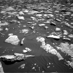 Nasa's Mars rover Curiosity acquired this image using its Right Navigation Camera on Sol 1576, at drive 300, site number 60