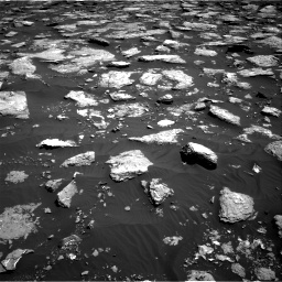 Nasa's Mars rover Curiosity acquired this image using its Right Navigation Camera on Sol 1576, at drive 318, site number 60