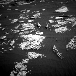 Nasa's Mars rover Curiosity acquired this image using its Left Navigation Camera on Sol 1577, at drive 546, site number 60