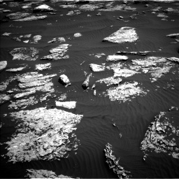 Nasa's Mars rover Curiosity acquired this image using its Left Navigation Camera on Sol 1577, at drive 552, site number 60