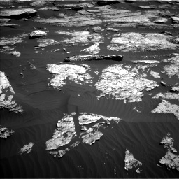 Nasa's Mars rover Curiosity acquired this image using its Left Navigation Camera on Sol 1577, at drive 606, site number 60