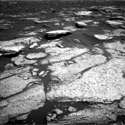 Nasa's Mars rover Curiosity acquired this image using its Left Navigation Camera on Sol 1577, at drive 660, site number 60