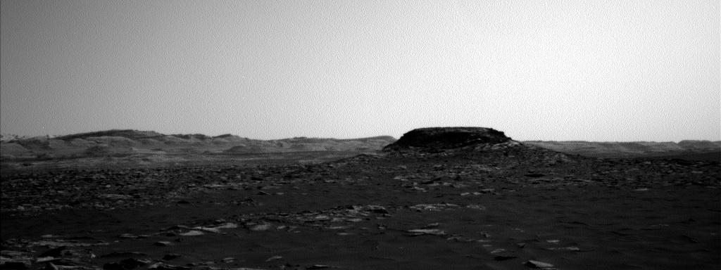 Nasa's Mars rover Curiosity acquired this image using its Left Navigation Camera on Sol 1577, at drive 684, site number 60