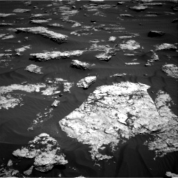 Nasa's Mars rover Curiosity acquired this image using its Right Navigation Camera on Sol 1577, at drive 486, site number 60