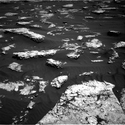 Nasa's Mars rover Curiosity acquired this image using its Right Navigation Camera on Sol 1577, at drive 492, site number 60