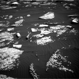 Nasa's Mars rover Curiosity acquired this image using its Right Navigation Camera on Sol 1577, at drive 552, site number 60