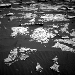 Nasa's Mars rover Curiosity acquired this image using its Right Navigation Camera on Sol 1577, at drive 606, site number 60