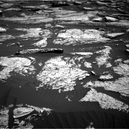 Nasa's Mars rover Curiosity acquired this image using its Right Navigation Camera on Sol 1577, at drive 612, site number 60