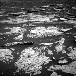 Nasa's Mars rover Curiosity acquired this image using its Right Navigation Camera on Sol 1577, at drive 618, site number 60
