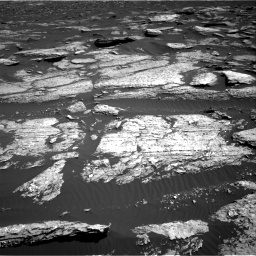 Nasa's Mars rover Curiosity acquired this image using its Right Navigation Camera on Sol 1577, at drive 630, site number 60