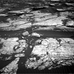 Nasa's Mars rover Curiosity acquired this image using its Right Navigation Camera on Sol 1577, at drive 636, site number 60