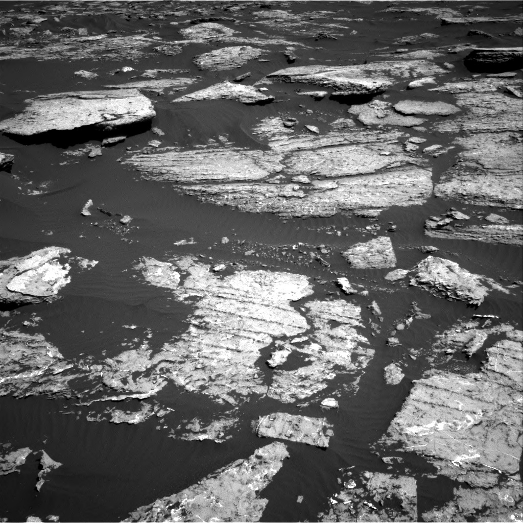Nasa's Mars rover Curiosity acquired this image using its Right Navigation Camera on Sol 1577, at drive 642, site number 60
