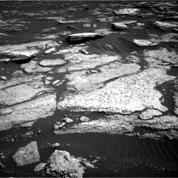 Nasa's Mars rover Curiosity acquired this image using its Right Navigation Camera on Sol 1577, at drive 654, site number 60