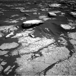 Nasa's Mars rover Curiosity acquired this image using its Right Navigation Camera on Sol 1577, at drive 672, site number 60