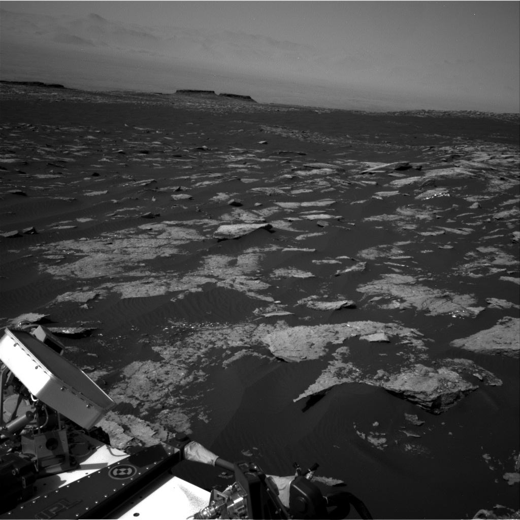 Nasa's Mars rover Curiosity acquired this image using its Right Navigation Camera on Sol 1577, at drive 684, site number 60