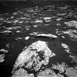 Nasa's Mars rover Curiosity acquired this image using its Left Navigation Camera on Sol 1578, at drive 738, site number 60